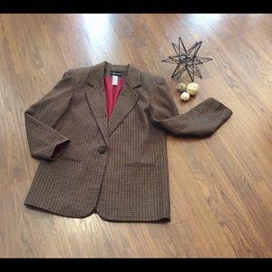 Sag Harbor wool blend  jacket